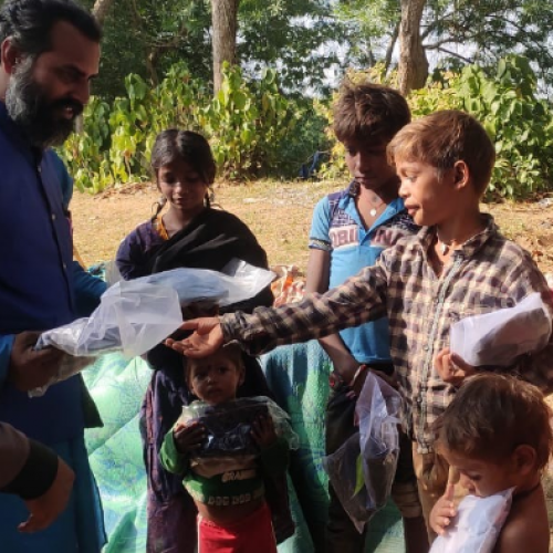 Chinmaya Foundation's Day 263 of COVID-19 Awareness & Relief Distribution
