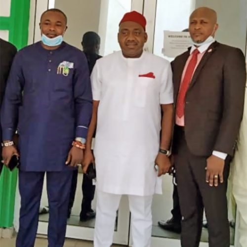 PHOTO NEWS: Imo Assembly Members Pay Courtesy Visit to IMSAA