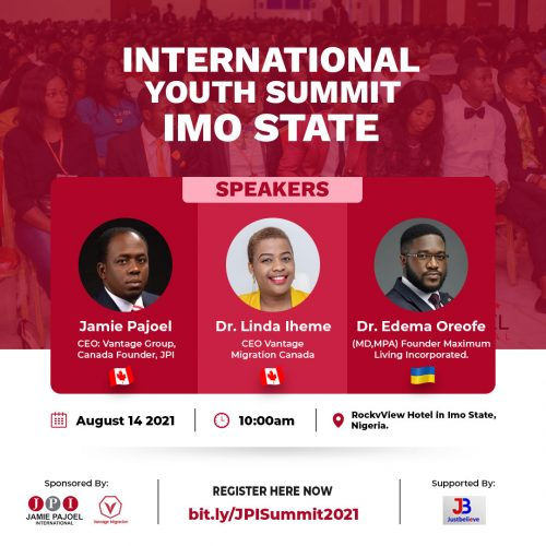 JPI To Hold International Youth Summit, Honour, Empower 15 People, More in Owerri