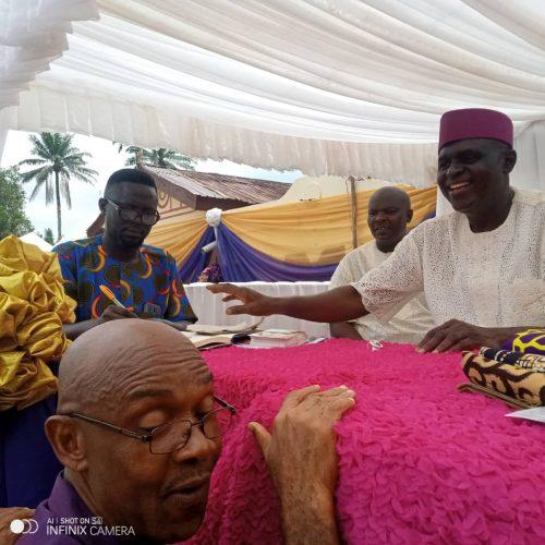 Ideato Agog as Igbo Leaders Honour ASETU President at Mum's Burial