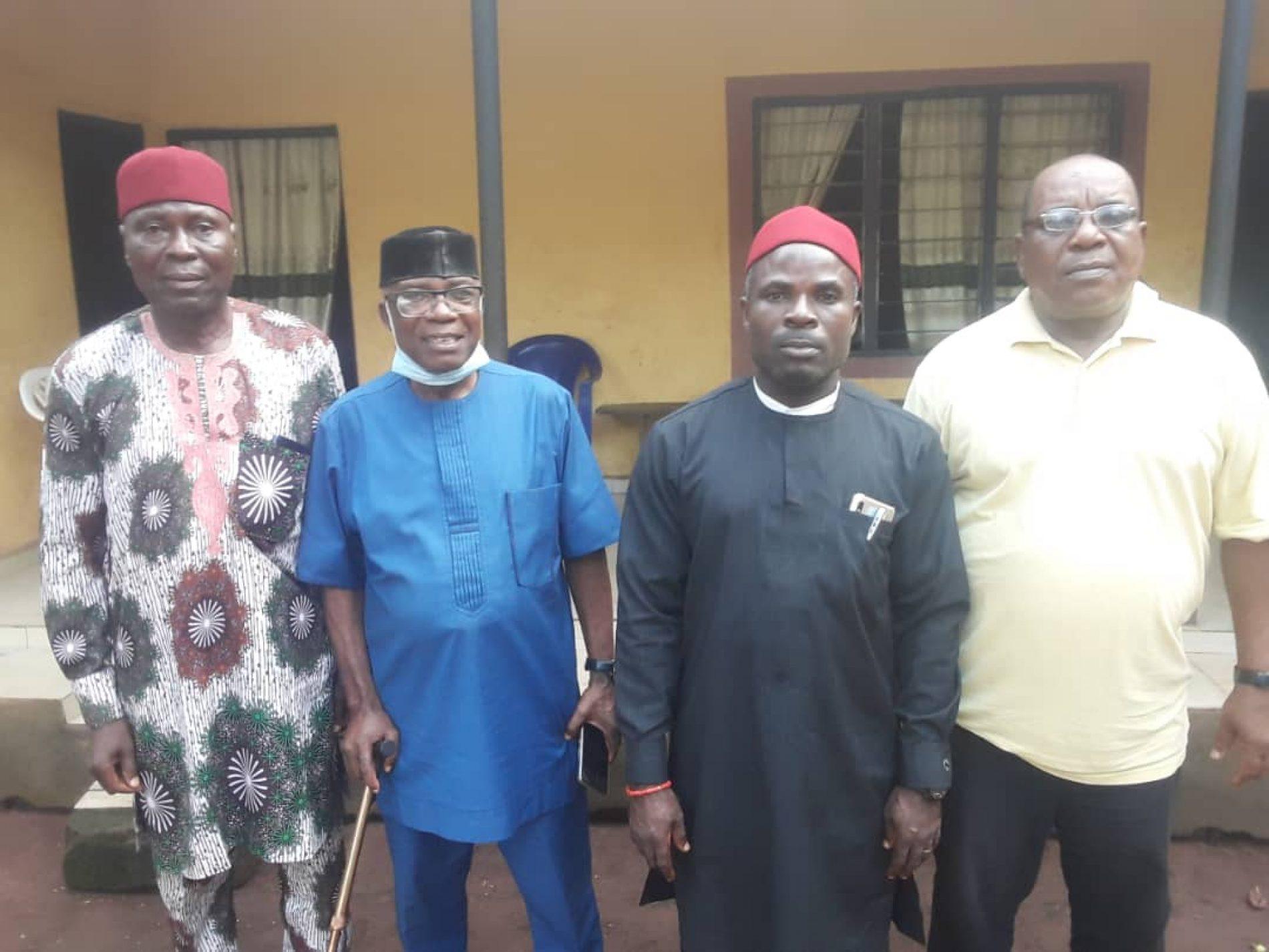 Odinma Ikeduru visits Eze Victor Achionye….. Seek Support and Blessing
