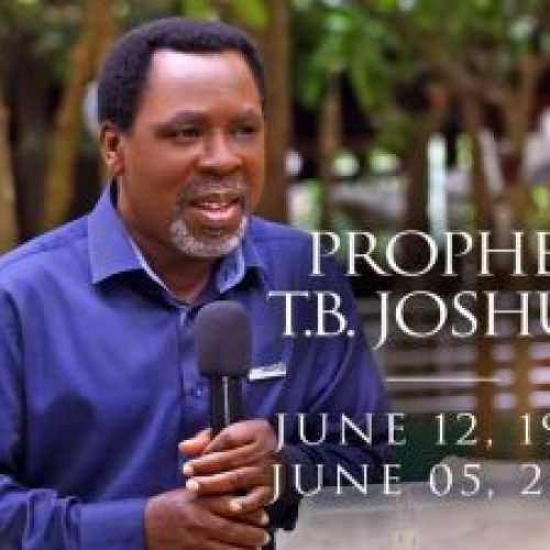Breaking: Synagogue Church Confirms Prophet T.B Joshua Is Dead