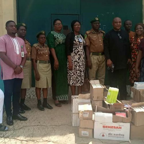 Welfare: Govt Advised To Provide For Correctional Inmates …As Gift Health Plus, NHRC Offers Medications, Hygiene Supplies
